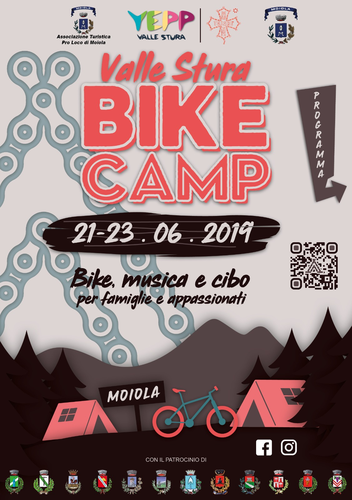 Valle Stura Bike Camp: 21 – 23 giugno 2019